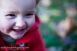 Lifestyle smiling child portrait
