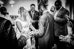 Emotive Methodist Wedding Ceremony Moment
