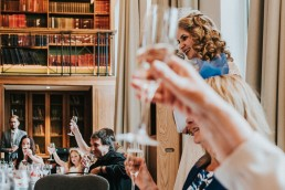 bride speeches at the IET Savoy Place Maxwell Library
